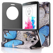 Quick Circle Smart Window View Slim Wallet Flip Smart Case Cover for LG G3 CA