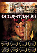 Occupation 101 Voices of the Silenced Majority dvd Israeli Palestinian conflict