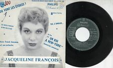 JACQUELINE FRANCOIS disco EP 45 giri MADE in FRANCE Mandoline amoureuse