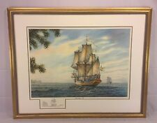 William Dawson Limited Editon Signed Print with Remarque Kalmar Nyckel - 1638 #6