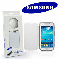 SAMSUNG GALAXY S4 ZOOM BIANCO FLIP CASE lens cover genuine Retail Pack ggs10fweg