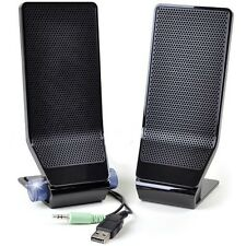 Acer MS1238US 2-Piece USB Powered PC Speaker Set w/3.5mm Jack (Black)