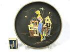 """Rare 50 ´s Ruscha Keramik wall plate Wandteller """"Paris"""" 717 1 1/2 Variante 5"""
