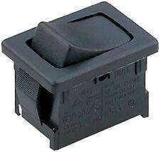 Kippschalter/Wippschalter 12 V 230V/AC 250 V/AC 6 A 1 x (Ein)/Aus/(Ein)intern124