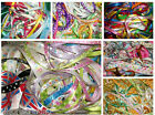50 x 1 metre of Assorted Colours & Widths Mixed Ribbon Off Cuts Bundle
