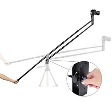 Portable Aluminum Adjustable 6.6ft (2M) DSLR SLR Jib Video Camera Crane Jib Arm