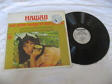 Hawaii Elmer Bernstein & Songs Of The Islands Record LP Hawaii Exotic NM Shrink