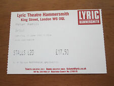 PETER HAMMILL - LYRIC THEATRE  LONDON 15.6.2002 (2nd SHOW)  USED CONCERT TICKET