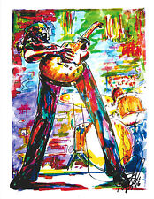 Jimmy Page, Led Zeppelin, The Yardbirds, Guitar  Guitarist, 8.5x11 PRINT w/COA 4