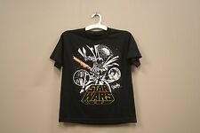 DARTH VADER.. PICTURE STAR WARS BLACK T-SHIRT..MARVEL..FOR KIDS..SIZE:M/L..A.D