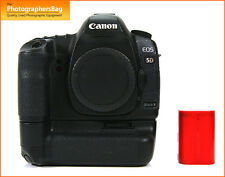 Canon EOS 5D MK II Digital SLR Camera Body,Battery, & Grip  Free UK Postage