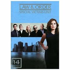 Law  Order: Special Victims Unit - The Fourteenth Year (DVD, 5-Disc Set) VG 1LB