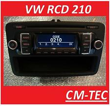 Original VW RCD 210 Radio CD mp3 RCD210 Doppel DIN neues Modell 5K0035156A