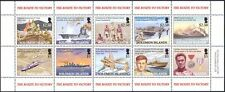 Solomons 2005 WWII/Navy/Ships/Air Force/Planes/JFK/Military/War 10v sht (n42164)