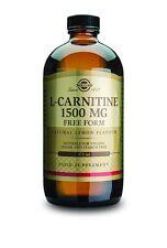 Solgar L-Carnitine 1500mg 16oz - Solgar L Carnitine 16oz 1500mg - Free Shipping