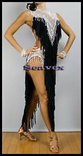 U6625 Competition ballroom women Samba chacha Latin dance dress custom made