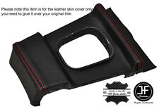 RED STITCHING MANUAL GEAR SURROUND LEATHER COVER FITS BMW E10 2002 1802 Tii