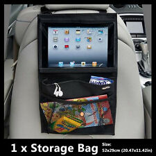 Car Seat Back Organizer Holder Multi-Pocket For iPad Baby Child Kick Kids New