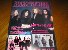 ROCK the NATION-North America's Hardest Rocking Magazine #2 april '95 MEGADEATH
