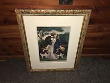 Original Currier Ives Print Kiss Me Quick New/Old Best 50 List Great Color