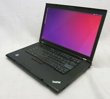 "ThinkPad W520 15.6"" i7 2720QM 2.2 12GB Quadro 2000 256GB SSD Linux Laptop #25"