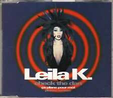 Leila K - Check The Dan - Ça Plane Pour Moi (Plutone Remixes) CDM 1993 Eurodance