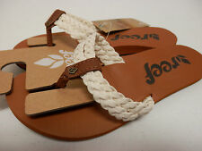 REEF WOMENS SANDALS REEF TWISTED SKY CREAM SIZE 6