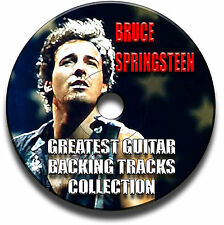 16 BRUCE SPRINGSTEEN THE BOSS STYLE ROCK GUITAR BACKING JAM TRACKS AUDIO CD