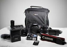 Canon EOS Rebel T3i / 600D Digital SLR Camera - 2 lenses, battery grip and more!
