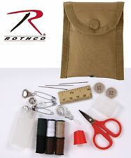 Military Style Sewing Kit - Rothco MOLLE Field Repair Pouch Kits - All Included