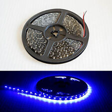 5M 3528 BLUE 300 LED Light Waterproof Flexible Strip with 3M Tape Cuttable IP65