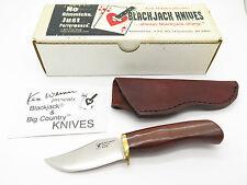 VTG BLACKJACK SLICK AUS-10 & COCOBOLO SEKI JAPAN FIXED BLADE HUNTING KNIFE NOS