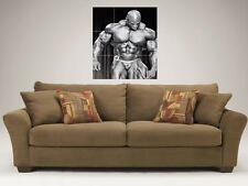 "RONNIE COLEMAN MOSAIC 35""X25"" INCH WALL POSTER BODYBUILDING BIG RON"