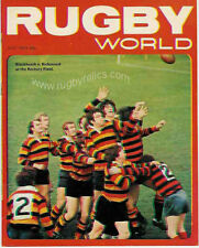 RUGBY WORLD MAGAZINE JULY 1973 - PERFECT GIFT FOR A FAN BORN IN THIS MONTH