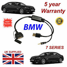BMW 7 Series (611204407) For Apple 3GS 4 4S iPhone iPod USB & 3.5mm Aux Cable