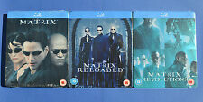Matrix Steelbook Bluray Collection Uk Edition * New and Sealed*