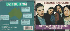 TEENAGE FANCLUB - S/T - OZ 4 TRK TOUR SOUVENIR CD -1994 - DIGIPAK