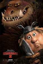 "029 How to Train Your Dragon 2 - 2014 Hot Movie Film 14""x21"" Poster"