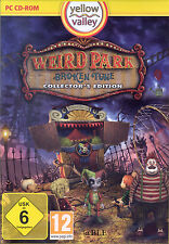 PC CD-ROM + Weird Park + Broken Tune + Collector's Edition + Wimmelbild + Win 8