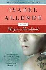 Mayas Notebook By Isabel Allende New York Times Bestseller Free Shipping!
