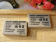 2pcs EN-EL5 Replacement Battery 1100mAh For Nikon COOLPIX P520 P510 P500 100
