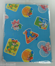 Vintage POPPLES Wrapping PAPER Putter Prize PC Pancake  Puffball Party Potato