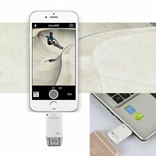 64GB USB i-Flash Drive HD Memory Card Reader U Disk For iPhone 5S 6 6S Plus iPad