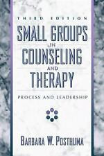 Small Groups in Counseling and Therapy: Process and Leadership-ExLibrary