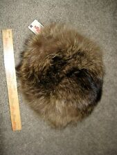 NWT Womens Vintage Boutique Racoon Fur Hat By Kates Canada, Orig. $150 NOS