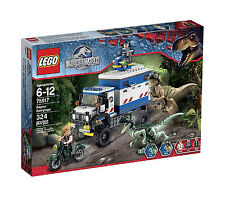 LEGO Jurassic World Raptor Rampage 75917 Building Kit Creative, Fun Exciting NEW