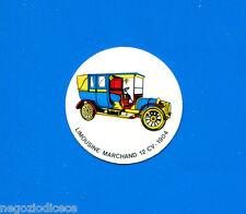 KICA - Sorprese Decalcomania Figurina-Sticker anni 60 - LIMOUSINE MARCHAND 1904