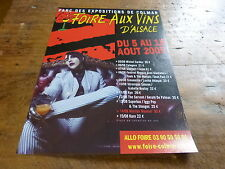 MARILYN MANSON - Publicité de magazine / Advert FOIRE AUX VINS !!!!!