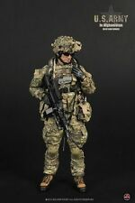 "1/6 Soldier Story US Army Afghanistan M249 Saw Gunner Military 12"" Figure Bonus"