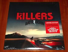 THE KILLERS BATTLE BORN 2x LP LIMITED RED VINYL 180g GATEFOLD DELUXE EDITION New